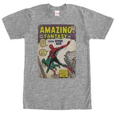 Spidey Comic Cover T-Shirts, Hoodies, Sweaters