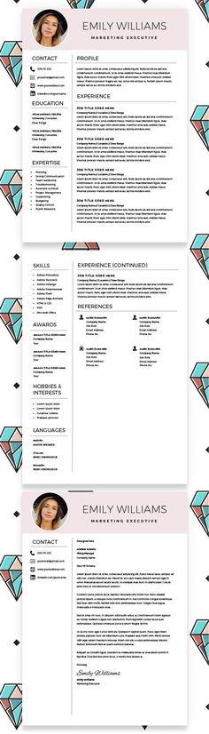 3426 Best Cv Resume Design Images In 2019 Cv Template Resume
