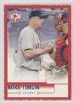 Mike Timlin (Baseball Card) 2004 Upper Deck McDonald's Boston Red Sox Champions Sheets Singles #5 -- Awesome products selected by Anna Churchill