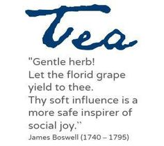 quote about tea