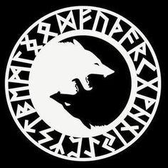Geri And Freki Symbol