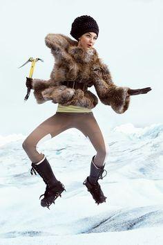 Photographed by Annie Leibovitz, Vogue