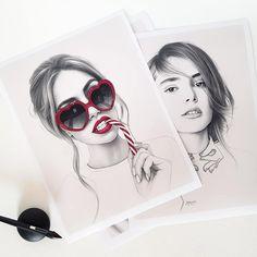 Evgeni Koroliov on Behance Hyperrealism, Illustration Artists, Artist Art, Happy Friday, Mixed Media Art, Pencil Drawings, Cat Eye Sunglasses, Amazing Art, Behance