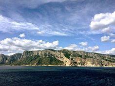 Along the Sardinian coast