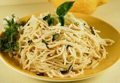 Lemon and Garlic Pasta...So Fabulous!    #Pasta #Recipe