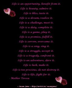 (9) Inspirational Quotes & Poems
