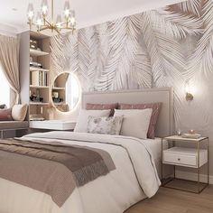 Design Your Bedroom, Luxury Bedroom Design, Home Room Design, Home Interior Design, Luxury Kids Bedroom, Room Ideas Bedroom, Home Decor Bedroom, Bed Room, Stylish Bedroom