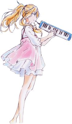 Shigatsu Wa Kimi No Uso - Kaori Miyazono in Render by roxa1314 on DeviantArt