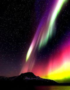 Aurora Borealis over Brønnøy, Norway...;by Lars Anker Rasch