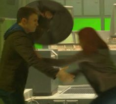 Gosh, their friendship is so flipping cute. <---- ummmm this is when he's shielding her from an explosion....