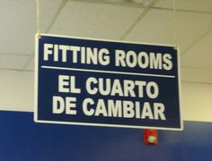 Fitting rooms | el cuarto de cambiar