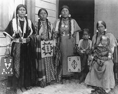 Family of David Williams - Nez Perce - 1905: