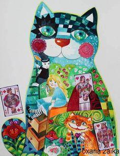 """Alice in Wonderland"" par Oxana Zaika"