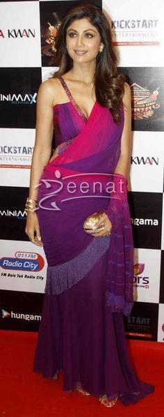 Shilpa Shetty In Tarun Tahilliani Saree