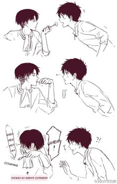 Yaoi,Fluff,AUs, and crossovers of ereri pics [None of the images or … # Fanfic # amreading # books # wattpad Ereri, Eren Y Levi, Attack On Titan Meme, Attack On Titan Ships, Attack On Titan Fanart, Otaku Anime, Manga Anime, Hot Anime, Fanarts Anime