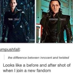The difference between innocent and twisted