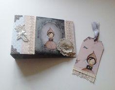 Inspire Creationz: Santoro Mirabelle Memory Tag Book - Handmade by Inspire Creationz