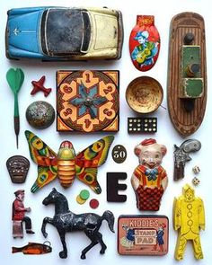 Vintage Tin Toys Collection