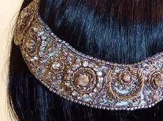 Resultado de imagen de cinturones de novia bordados luzdivina