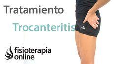 Trocanteritis o bursitis trocantérea. Tratamiento con ejercicios, auto-m...