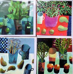 Este MacLeod Greeting card pack of four.