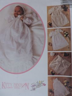 SeeSallySew.com - Christening Gown Cape Slip Bonnet Costume Patterns, Christening Gowns, Home Based Business, Baby Outfits, Cool Patterns, Cross Stitch Patterns, Cape, Reusable Tote Bags, Unisex
