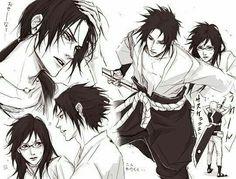 Itachi, Karin and Sasuke. Lily Art.