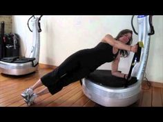 http://www.jilltrains.com - Fitness Expert & Weight Loss Coach, Jill Rodriguez demonstrates her favorite Power Plate® Exercise