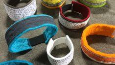 Gör själv -snygga reflexer som passar din stil och klädsel. Textiles, Wet Felting, Kombucha, Diy And Crafts, Baby Shoes, Crafty, Ben, Kids, Sewing Ideas