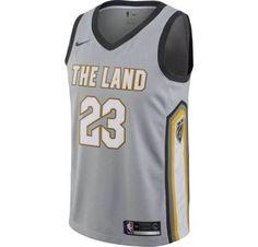 c57fa13ef4d Nike NBA Cleveland Cavaliers James City Edition Mens Swingman Jersey 912087  007
