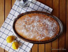 Bizcocho aromatizado con limón y anís