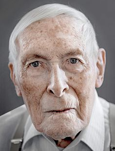 Walter Weinmann Happy at 100: Centenarians questioned on their tips for a long life often point to a daily glass ofwhisky or an ability to see the lighter side of life.   Photograph: Karsten Thormaehlen