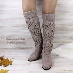Best 12 Image may contain: shoes – SkillOfKing. Crochet Boot Socks, Crochet Sandals, Crochet Slippers, Knitting Socks, Freeform Crochet, Knit Crochet, Make Your Own Shoes, Lace Flats, Knit Shoes