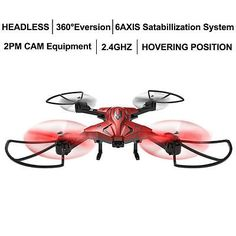 ﹩49.99. Skytech TK110HW 0.3MP Cam Phone & Remote Control RC Quadcopter Drone Headless    Type - Quadcopter,