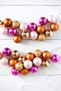 Five homemade holiday garlands to make this season— Including this glamorous ornament garland