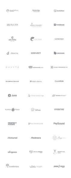 Logo Collection 12/13 by Denis Wong, via Behance