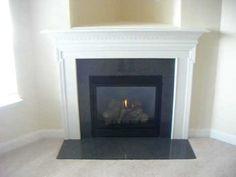 Black Granite Stone Fireplace Mantel /indoor Fireplace - Buy ...