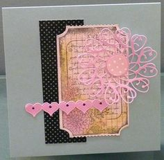 Memory box heart collage