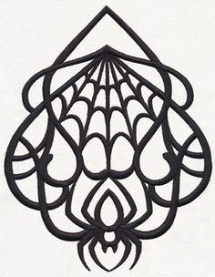 Gothic Nouveau - Pendant design (UT11881) from UrbanThreads.com