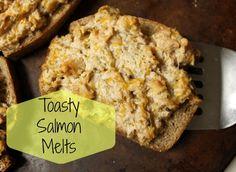 Toasty Salmon Melts