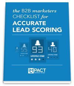 Free Ebook: The Marketers Checklist for Accurate Lead Scoring Inbound Marketing, Free Ebooks, Scores, Infographic, Learning, Infographics, Study, Teaching, Studying
