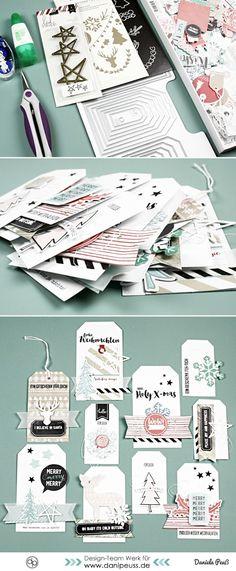 Selbstgemachte Geschenkanhänger zu Weihnachten | DIY Inspirationen vom Designteam von www.danipeuss.de