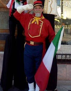 Garibaldi, new costume 2017