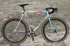 VAN TUYL - 1980's Dutch steel Cyclocross bike