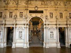Andrea Palladio: Teatro Olimpico, Vicenza, ab 1580