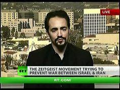 "Zeitgeist movement's Peter Joseph: ""War was inevitable for a long time"" ... ""Trying to prevent war between Israel & Iran"""