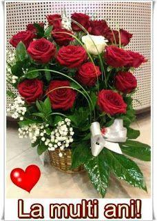Bubu Bubu, Birthday Wishes, Happy Birthday, Modern Floral Design, Christmas Wreaths, Lily, Table Decorations, Holiday Decor, 8 Martie