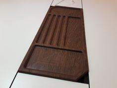Prototyp_Schreibtisch_Inlay aus Wenge. Passend für den Office-Desk made by Lueckenfueller.design #furniture #cnc #wood #unique #design