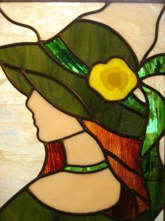 atelier de vitrail fleurs | ... , dimension vitrail 120*80 cm, châssis en hêtre, prix 1990 euros