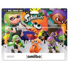 Nintendo Splatoon Series 3-Pack amiibo Figures,